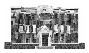 joseon JoongAng Ilbo Building(1926) / 2017 / Archival pigment print / 75x125cm