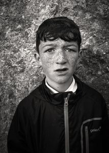 Boy at the Ballinasloe Horse Fair