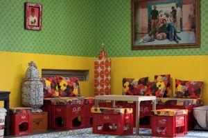 Installation 'Le Salon'