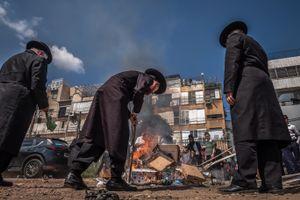 Burning of the Chametsz