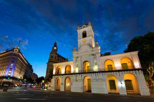 "The ""Cabildo"" museum"