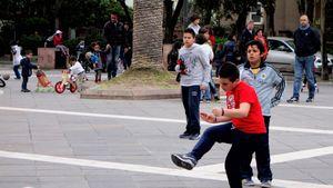 Street football, Italy  05