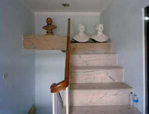 Statues, office of Communist Party of Nepal (Unified Marxist Leninist), 2012