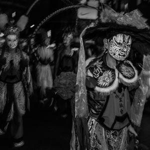 Taiwan Folk temple activitie