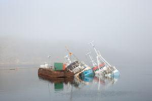 Flowing boats, Aasiaat