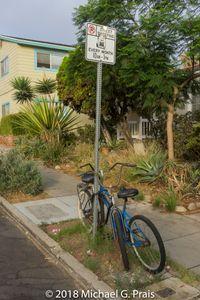 Bike on Post