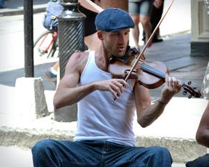 Street Musician, New Orleans, 2016