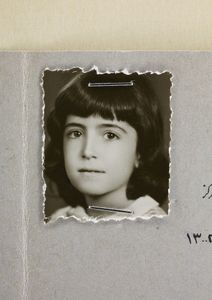 Afsaneh Mobasser, age 9