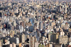Centro São Paulo (2008). From the series 'BRICS' © Marcus Lyon