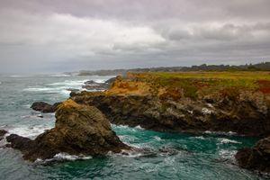 Coastline North, Pt. Cabrillo, Ft. Bragg, California