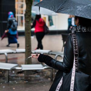 Casual in rain