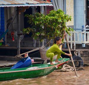 Boat life in Cambodia