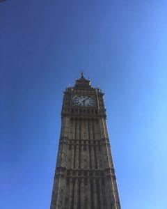 The Elizabeth Tower From Below