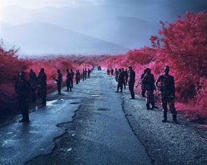 Road to Nowhere, 2012 © Richard Mosse, Edel Assanti