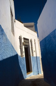 Expression in Blue, Blue and White