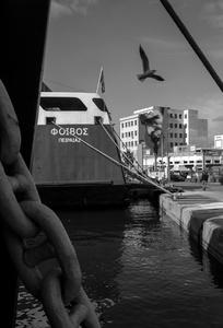 Pireaus harbor, 2016