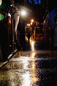 Quebec Night Rain #4