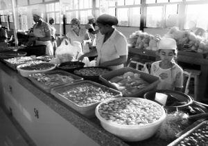 Young Vendor, Maputo, Angola