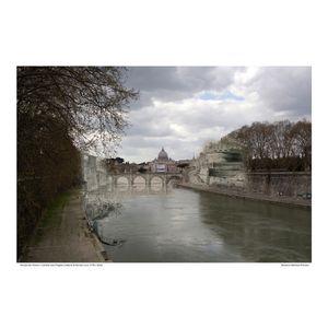 Ponte Sant'Angelo [Vedute di Roma] circa 1778 / 2016