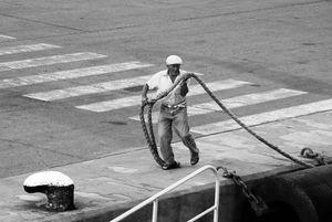 Wharf workerI