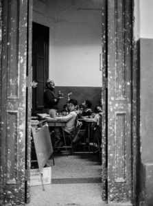 School -Classroom, Cuba,  Havanna, Kuba, January 1996