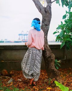 Blue Bag, Kochi India 2015 #7 (from the series Blue Bag 2007-2016)