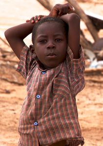 Little Boy of Nama people