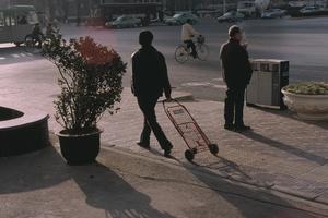 Main Street Xi'an, China. 23 December 2006