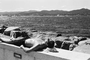 Sunbathing, St. Tropez. France. 2017.