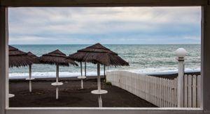 the orizont of sea