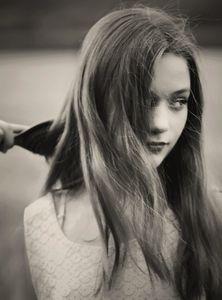 Ines, aged 12