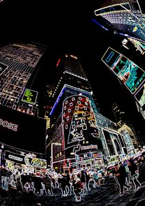 New York, Time square*