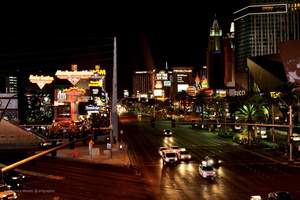 Las Vegas, Strip boulevard
