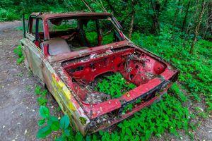 Chernobyl Red Car