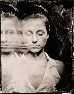 J (in Motion) - as a tintype