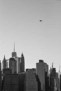 Hovering Manhattan
