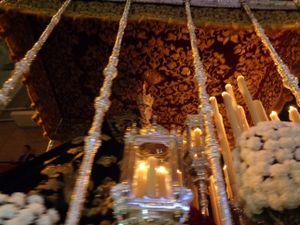 Pasa la Virgen de El Museo