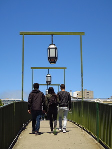 Crossing Geary Blvd to Japantown, San Francisco