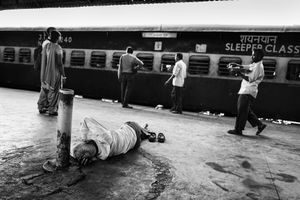IMPRESSIONS AT THE OLD DELHI RAILWAY STATION 21