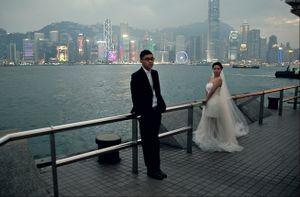 Happy honeymoon in HK