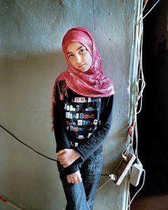 Samira 12, Bourj El Barajneh Refugee Camp, Beirut Lebanon, 2011
