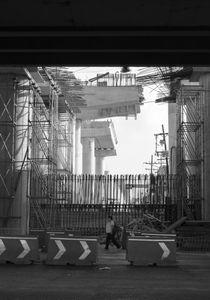 Construction of subway, line 3.