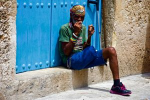 Old man in Old Habana