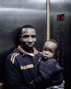 © Mikhael Subotzky and Patrick Waterhouse. Lift Portrait 2, Ponte City, Johannesburg (2008). Courtesy Goodman Gallery
