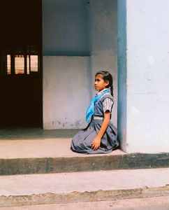 Blue Bag, Kochi India 2015 #16 (from the series Blue Bag 2007-2016)