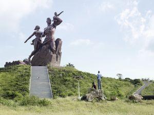 African Renaissance Monument. Dakar, Senegal, 49 m (161 ft). Built in 2010 © Fabrice Fouillet