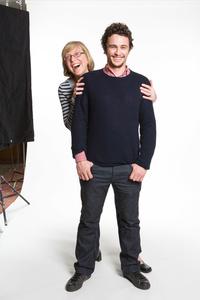 James Franco and Esther Wojcicki
