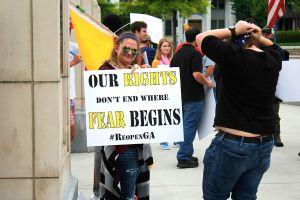 Re-open Georgia Protest