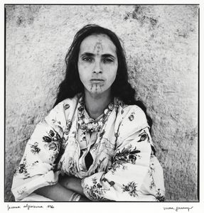 "From the series ""Algerian Women,"" shot in 1960. © Marc Garanger. Shown at the exhibition ""Public, Private, Secret,"" showing at the ICP in New York City."