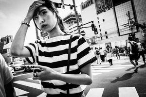 The Zebra Girl of Shinjuku - Tokyo, 2017